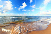 Lake Superior Beach Michigan — Stock Photo