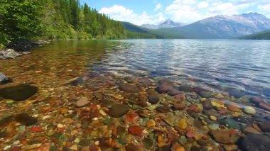 Kintla Lake - Glacier National Park — Stock Video