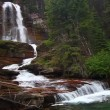 Virginia Falls Glacier National Park — Stock Video