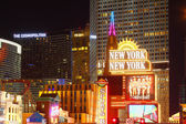 Las Vegas Strip Bright Lights — Stock Photo