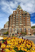 Fairmont Banff Springs Canada — Stock Photo