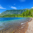 Stock Photo: Lake McDonald of Glacier Park