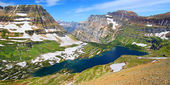 Hidden Lake Glacier National Park — Stock Photo
