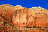 Streaked Wall Zion National Park — Stock Photo