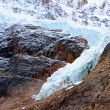 Angel Glacier Jasper National Park — Stock Photo