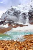 Angel Glacier Jasper National Park — Stock Photo