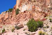 Acantilados rocosos de utah — Foto de Stock