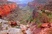 Bright Angel Trail Grand Canyon — Stock Photo