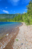 Lake McDonald of Glacier Park — Стоковое фото