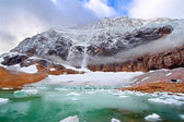 Mount Edith Cavell Jasper National Park — Стоковое фото