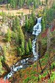 Undine Falls Yellowstone National Park — Stock Photo