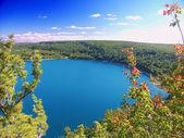 Devils Lake State Park Wisconsin — Stock Photo