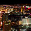 Stock Photo: Las Vegas Strip Bright Lights