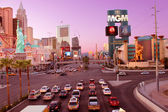 Las Vegas Strip Sunset — Stock Photo