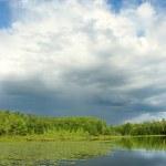 Mud Lake in Northwoods Wisconsin — Stock Photo #33205121