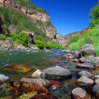 Colorado River in Glenwood Canyon — Stock Photo