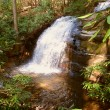 Long Creek Falls Appalachian Trail — Stock Photo