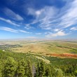 Wyoming Rural Countryside Scenery — Stock Photo
