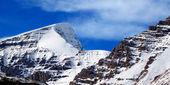 Mount Kitchener Jasper National Park — Stock Photo