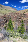 Paisaje de montañas escarpadas de wyoming — Foto de Stock