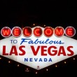 Welcome to Fabulous Las Vegas Sign — Stock Video