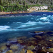 Yellowstone River Cascade Wyoming — Stock Photo #36058643