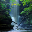 Matthiessen State Park Waterfall Illinois — Stock Photo