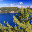 Devils Lake State Park Wisconsin — Stock Photo