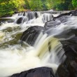 Bond Falls in northern Michigan — Stock Photo