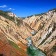 Grand Canyon of the Yellowstone River — Stock Photo