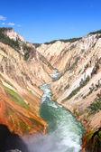 イエローストーン川大峡谷 — ストック写真