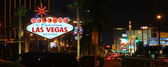 Welcome to Las Vegas Strip — Stock Photo