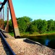 Railroad Bridge in Illinois — Stock Video