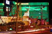 New York New York and MGM Grand — Stock Photo