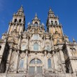 Cathedral of Santiago de Compostela in Spain — Stock Photo