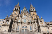 Cathedral of Santiago de Compostela in Spain — Stock Photo