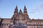 Cathedral of Santiago de Compostela, Galicia, Spain — Stock Photo
