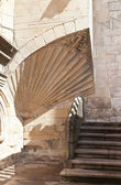 Detail of the Cathedral of Santiago de Compostela in Spain — Stock Photo