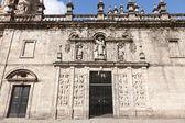 Porta santa ou desculpa da catedral de santiago de compostela, galiza, sp — Fotografia Stock