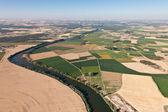 Duero rivier in valladolid, spanje — Stockfoto