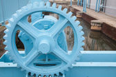 Machinery wheel — Stock Photo