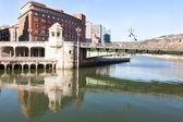 Bridge City Hall in Bilbao, Spain — Stock Photo