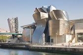 Guggeheim Museum of Bilbao — Stock Photo