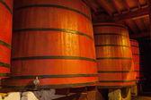 Wine Barrels — Stock Photo