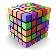 Color cube — Stock Photo