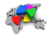 International economics — Stock Photo