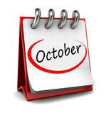 October — Stock Photo