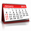 January - Stock Photo