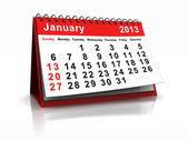 January — Stock Photo