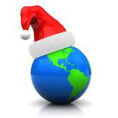 Global christmas — Stock Photo